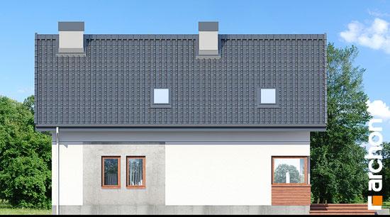 Elewacja ogrodowa projekt dom w zurawkach 10  267