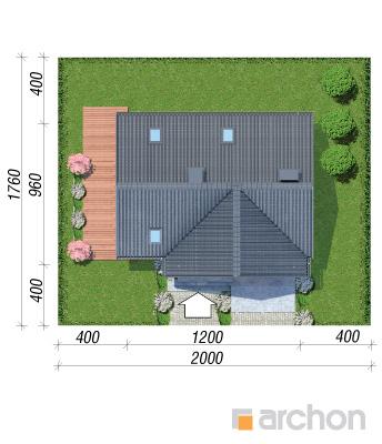 projekt Dom w żurawkach 10 sytuacja