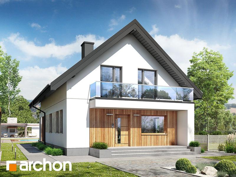 gotowy projekt Dom w sasankach 6 widok 1