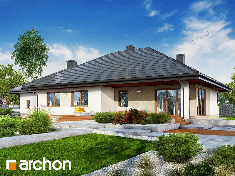 gotowy projekt Dom w alwach 3 (G2) widok 1