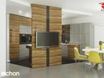 projekt Dom w wisteriach 2 (P) Wizualizacja kuchni 1 widok 3