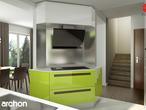 projekt Dom w wisteriach 2 (P) Wizualizacja kuchni 2 widok 2