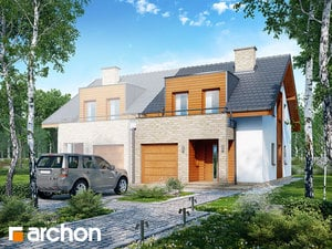 projekt Dom w klematisach 18 (B)