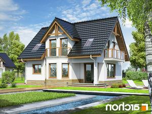 projekt Dom w żurawinie lustrzane odbicie 2