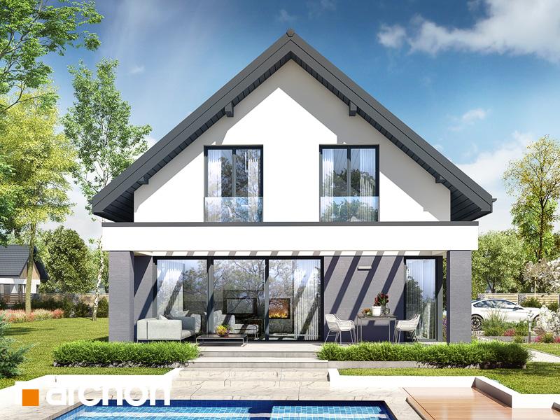 gotowy projekt Dom w szyszkowcach 3 (G) widok 2