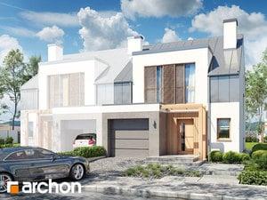 projekt Dom w klematisach 20 (BN)