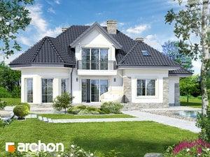 projekt Dom w hibiskusie
