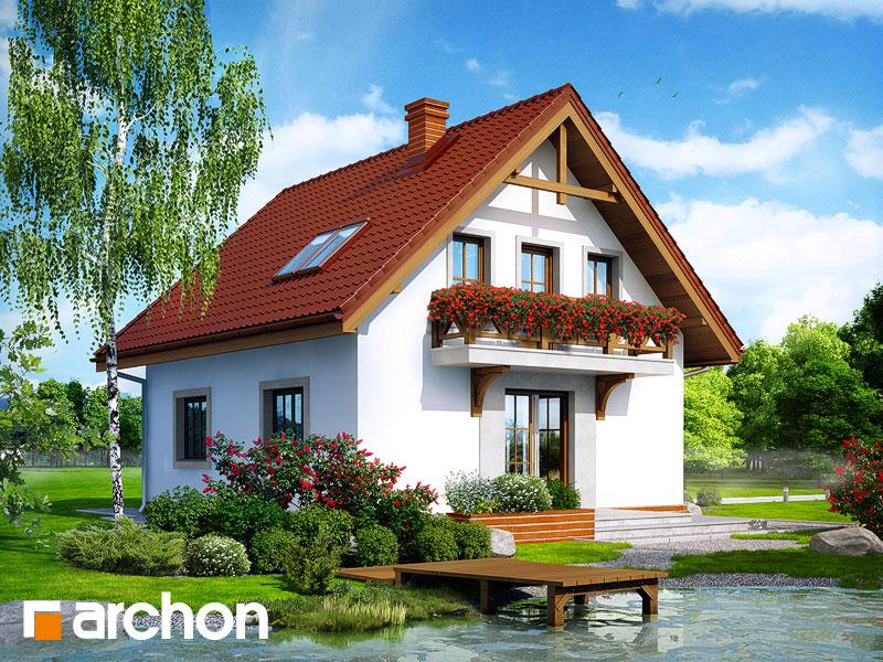 gotowy projekt Dom w poziomkach 5 widok 1