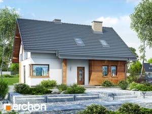 gotowy projekt Dom w makadamiach 2 (R2)