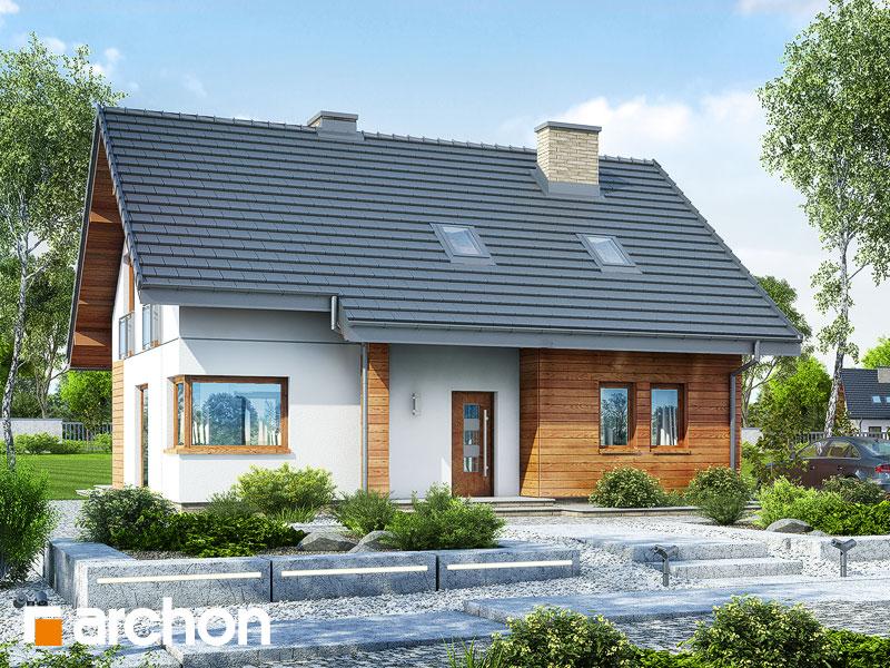 gotowy projekt Dom w makadamiach 2 (R2) widok 1