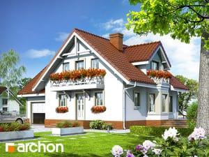 Projekt lustrzane odbicie dom w rododendronach 5 ver 2  252