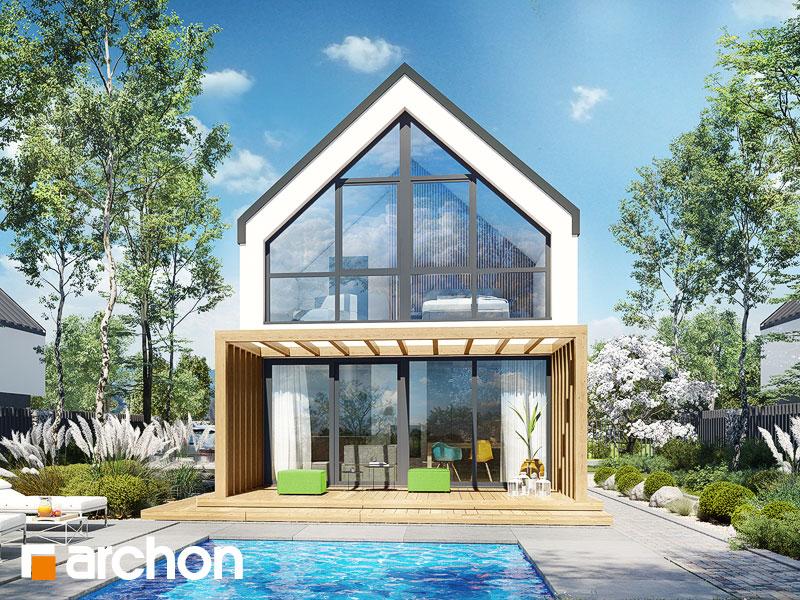 gotowy projekt Dom w muszkatach 4 (E) widok 2