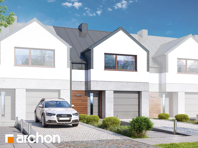 gotowy projekt Dom pod miłorzębem 16 (GS) widok 1