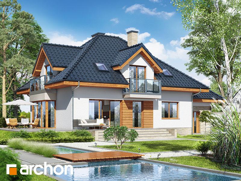 gotowy projekt Dom w werbenach 8 (PN) widok 1