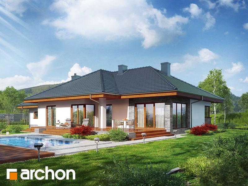 gotowy projekt Dom w alwach (G2) widok 1