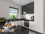 projekt Dom w klematisach 20 (SA) Wizualizacja kuchni 1 widok 1