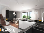 projekt Dom w klematisach 20 (SA) Wizualizacja kuchni 1 widok 2