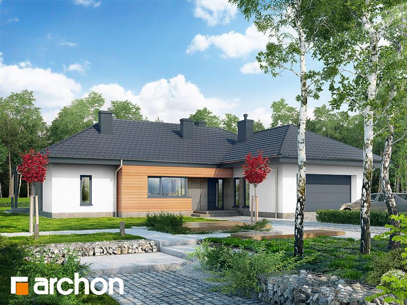 gotowy projekt Dom w ismenach (G2) widok 1