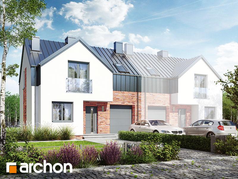 gotowy projekt Dom w gunnerach (B) widok 1