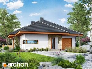 gotowy projekt Dom w cyprysikach (T)