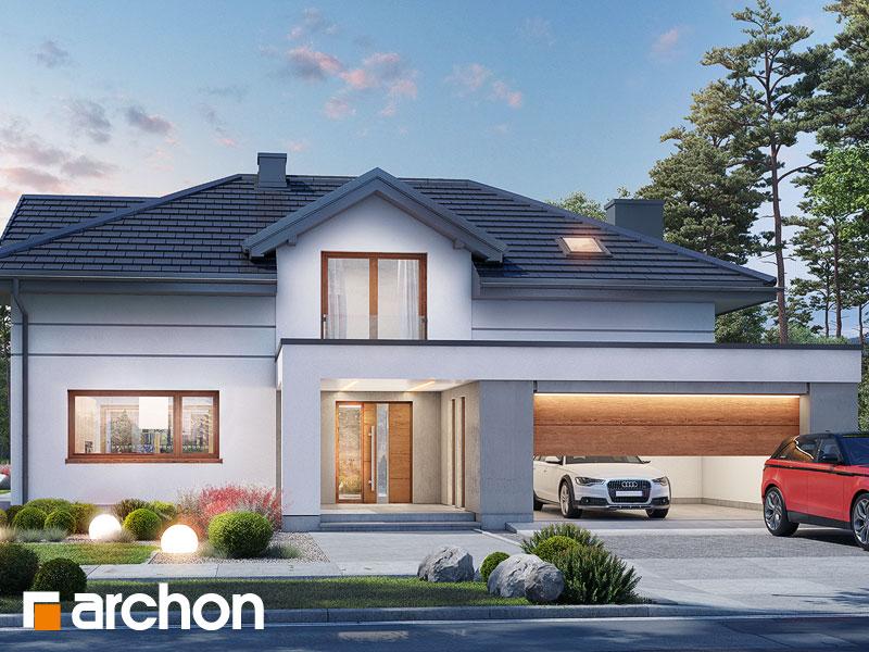 gotowy projekt Dom w maciejkach 4 (G2) widok 1