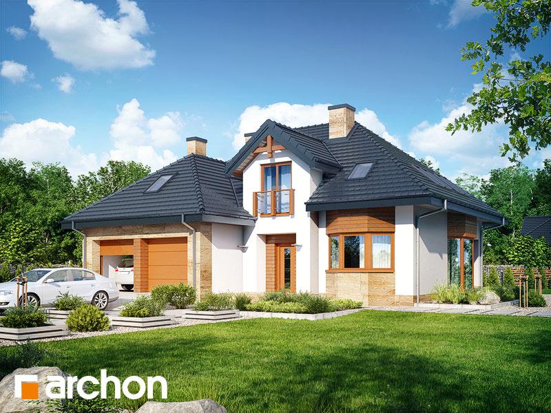 gotowy projekt Dom w kalateach 2 (A) widok 1