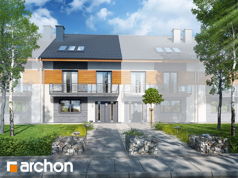 gotowy projekt Dom w kalwilach (S) widok 1