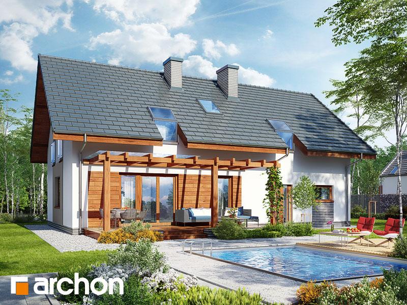 gotowy projekt Dom w limetkach 2 (G2) widok 1