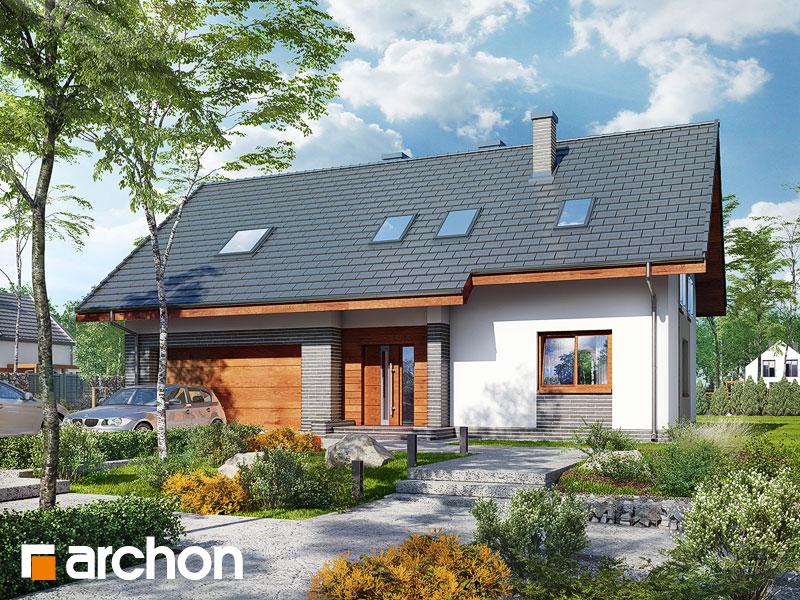 gotowy projekt Dom w limetkach 2 (G2) widok 2