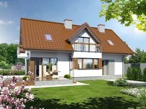 projekt Dom w majeranku 2 (N)