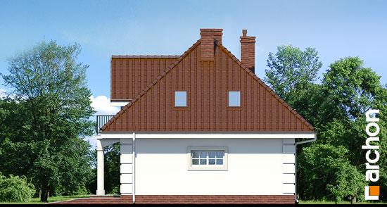 Elewacja boczna projekt dom w aksamitkach ver 2  265