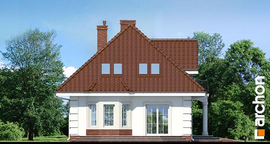 Elewacja boczna projekt dom w aksamitkach ver 2  266