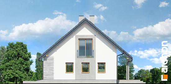 Elewacja boczna projekt dom w zurawkach 4 p  265