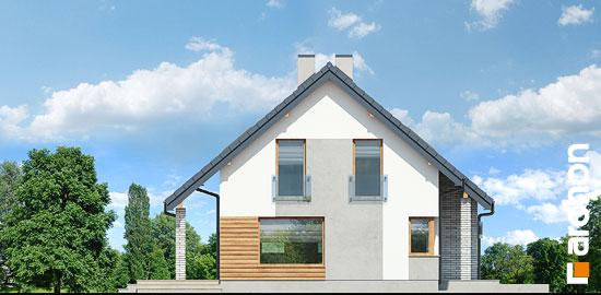 Elewacja boczna projekt dom w zurawkach 4 p  266