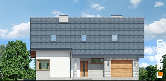 Elewacja frontowa projekt dom w zurawkach 4 p  264
