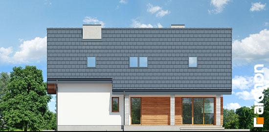 Elewacja ogrodowa projekt dom w zurawkach 4 p  267