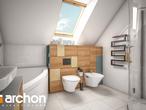 projekt Dom w żurawkach 4 (P) Wizualizacja łazienki (wizualizacja 3 widok 1)