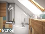 projekt Dom w żurawkach 4 (P) Wizualizacja łazienki (wizualizacja 3 widok 2)