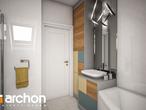 projekt Dom w żurawkach 4 (P) Wizualizacja łazienki (wizualizacja 3 widok 3)