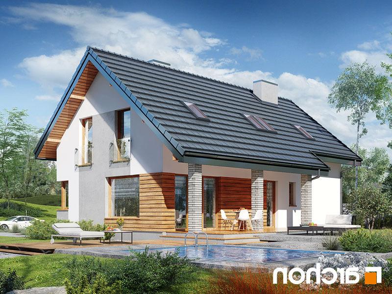 Lustrzane odbicie 2 projekt dom w zurawkach 4 p  290lo