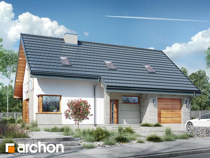 gotowy projekt Dom w żurawkach 4 (P) widok 1