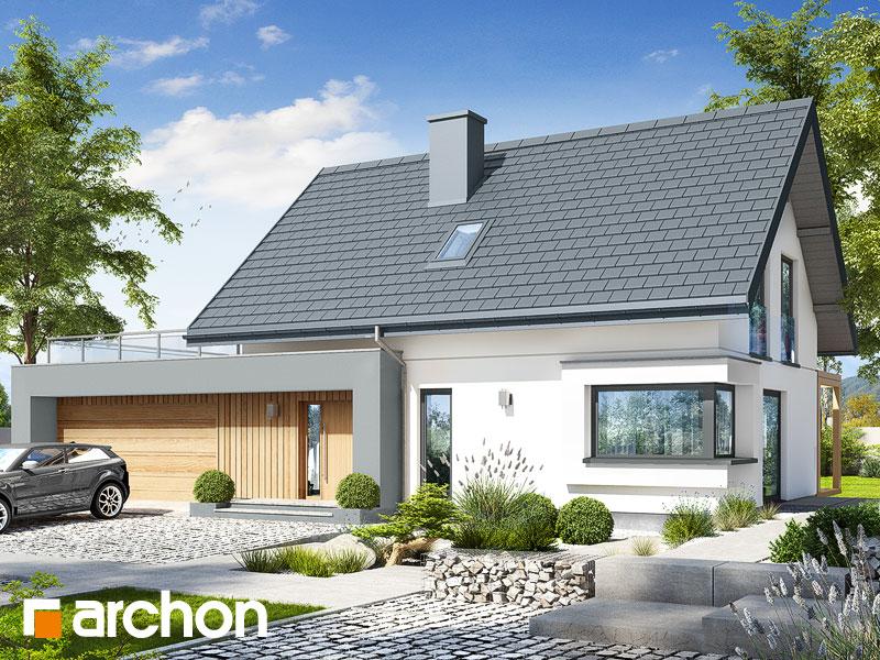 gotowy projekt Dom w zielistkach 12 (G2) widok 1