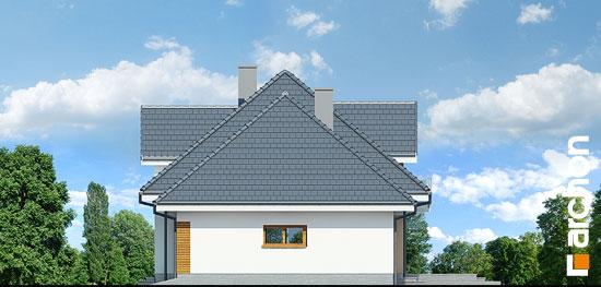 Elewacja boczna projekt dom w sliwach g2  265