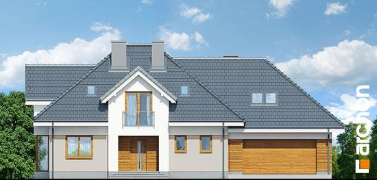 Elewacja frontowa projekt dom w sliwach g2  264