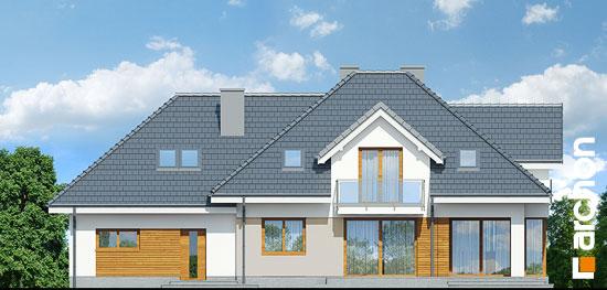 Elewacja ogrodowa projekt dom w sliwach g2  267