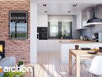 projekt Dom w śliwach (G2) Wizualizacja kuchni 1 widok 1