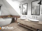 projekt Dom w śliwach (G2) Wizualizacja łazienki (wizualizacja 3 widok 1)