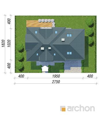 projekt Dom w śliwach (G2) sytuacja