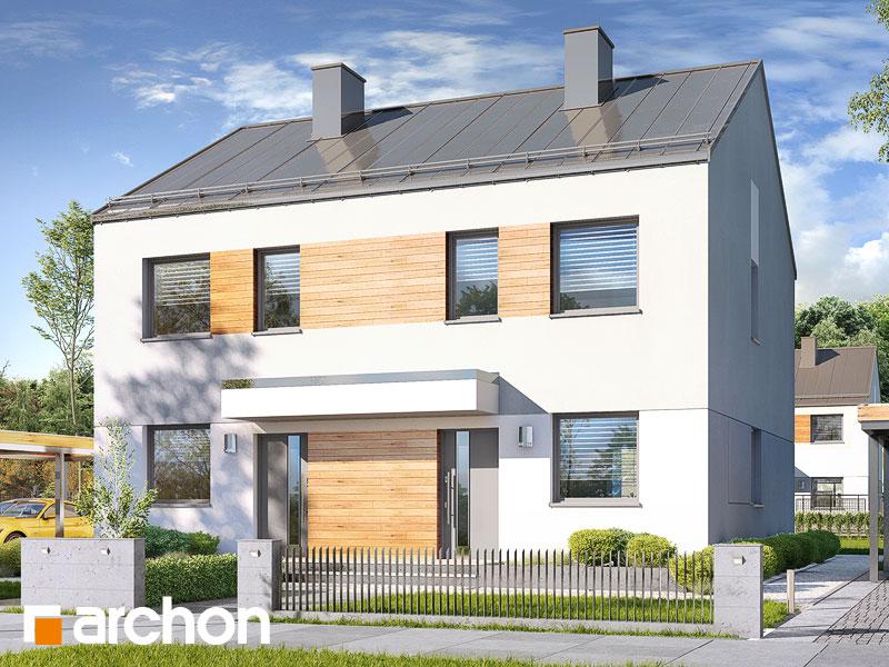 gotowy projekt Dom w riveach 2 (R2) widok 1