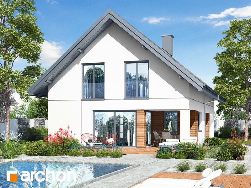 gotowy projekt Dom w zdrojówkach 5 widok 1